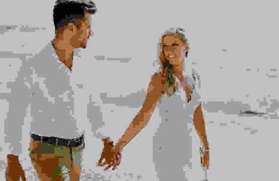 Minimal Destination Γάμος στην Παραλία Αβάλι στη Λευκάδα