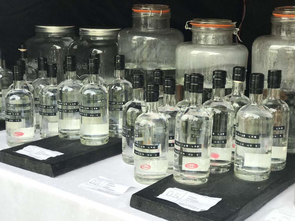 Gin flasker