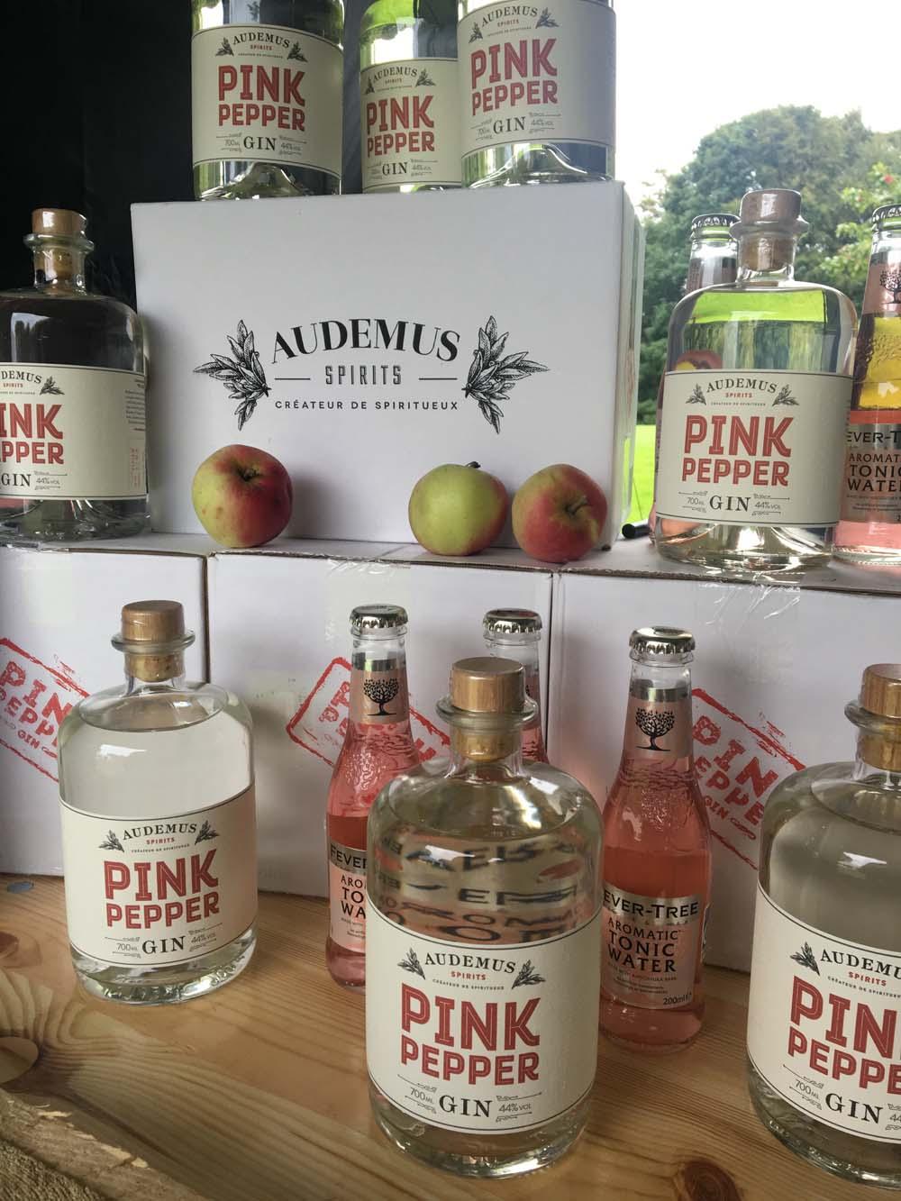 Pink peber gin