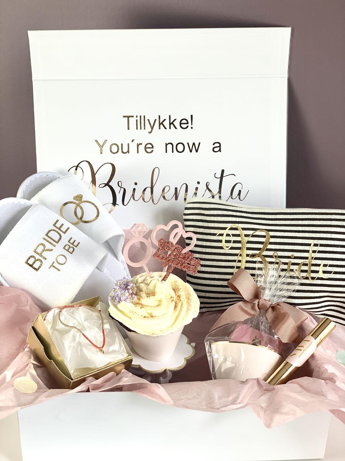 gaveæske til kommende brude