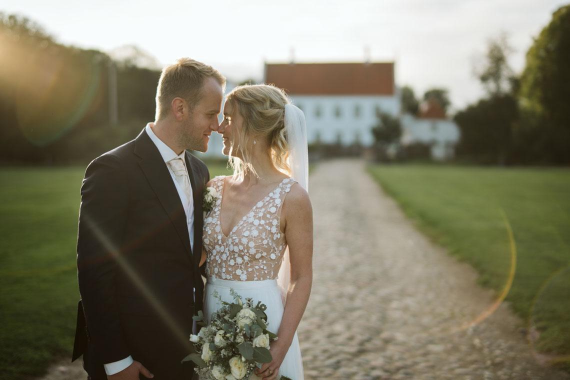Bryllupsbillede af Morten Elsborg