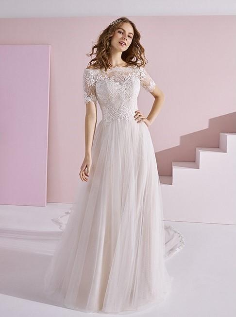 brudekjole købt i bryllupsklub