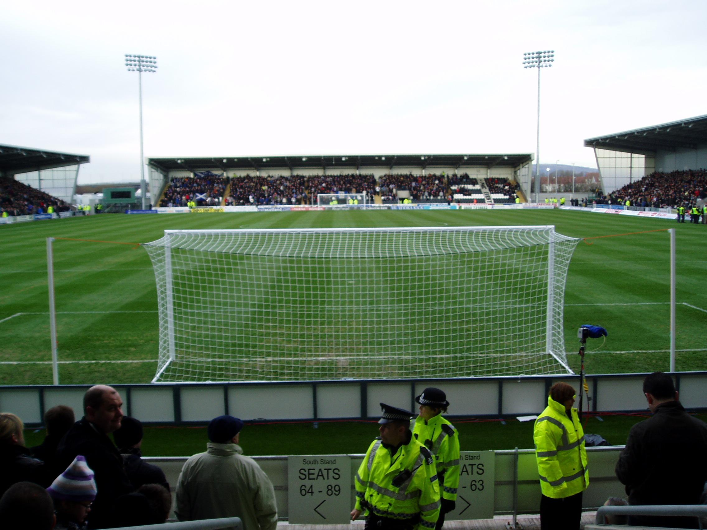 St Mirren Park 31 January 2009