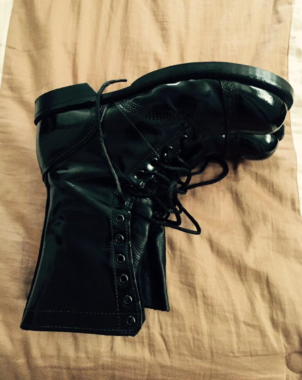 bootsonbed