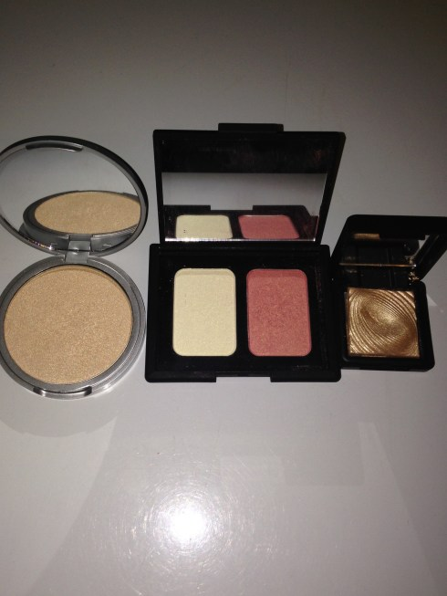 In My Bridal Kit - Highlighters, inmykit-highlighters, highligters for black skin, highlighters for dark skin, london makeup artist for black skin, black makeup artist london.