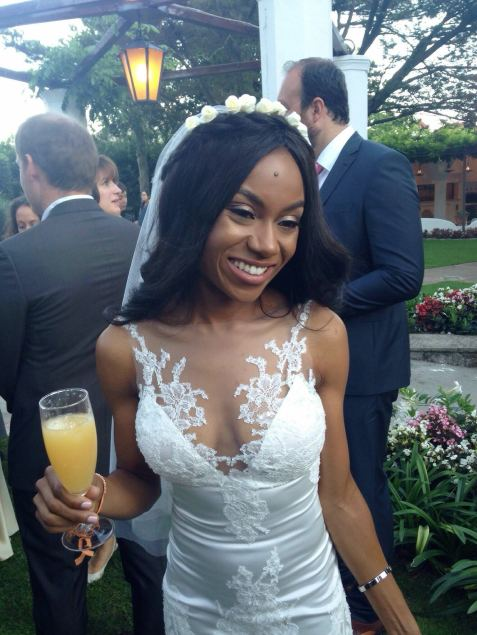 Black makeup artist for destination wedding, Destination Wedding - Naples, Italy, yoruba bride, black makeup artist london, london makeup artist for black skin, pink lips for black brides, joy adenugas