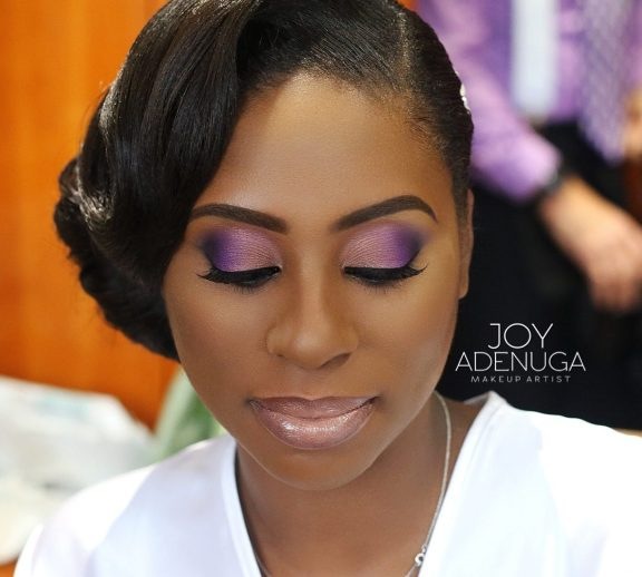 naiomi's wedding, joy adenuga, london makeupartist for black skin, black makeup artist, black bridal makeup artist london, black wedding makeup artist, makeup artist for dark skin, purple makeup for black bride, purple makeup for black skin
