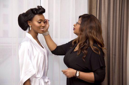 Maggie's Wedding, joy adenuga, london makeup artist for black skin, black makeup artist london, black bridal makeup artist london. wedding makeup artist for dark skin
