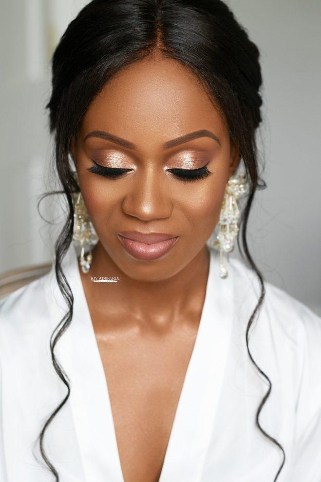 Rochelle's Wedding, Joy Adenuga, black bride, black bridal blog london, london black makeup artist, london makeup artist for black skin, black bridal makeup artist london, makeup artist for black skin, nigerian makeup artist london, makeup artist for women of colour, black beauty, Nigerian Bride