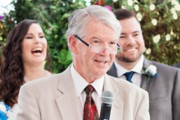Officiant Ray Cross enlivens weddings