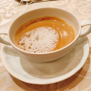 栗のクリームスープ
