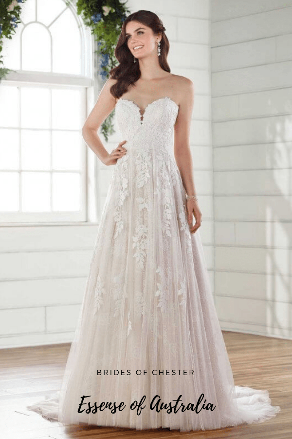 Brides of Chester introduces Essense of Australia D2752 Wedding Dress