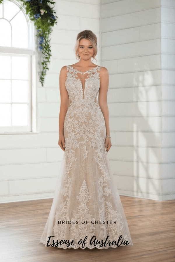 Brides of Chester introduces Essense of Australia D2548 Wedding Dress