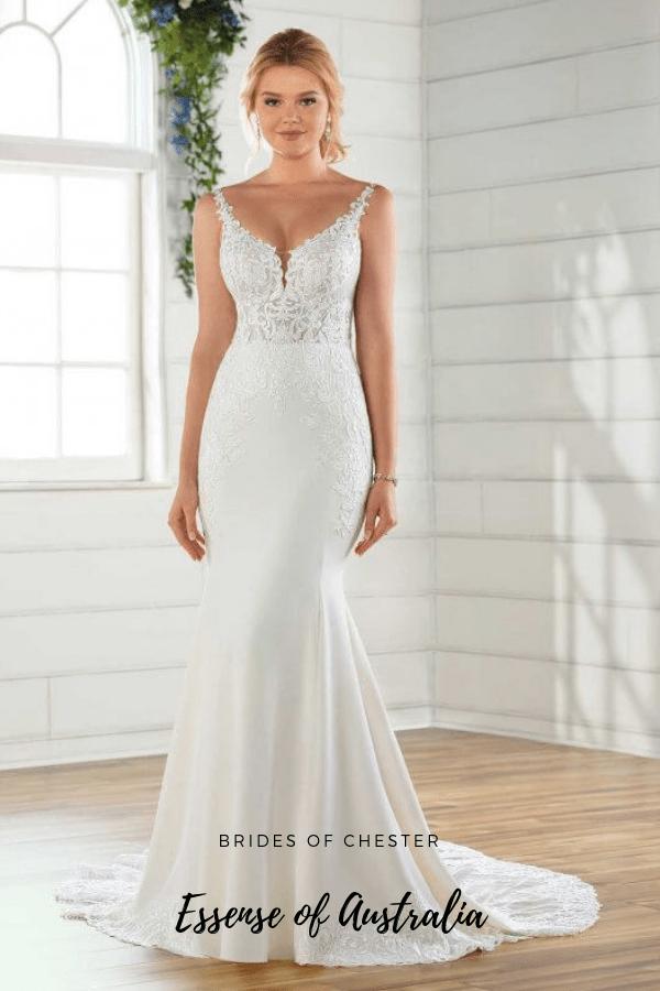 Brides of Chester introduces Essense of Australia D2679 Wedding Dress