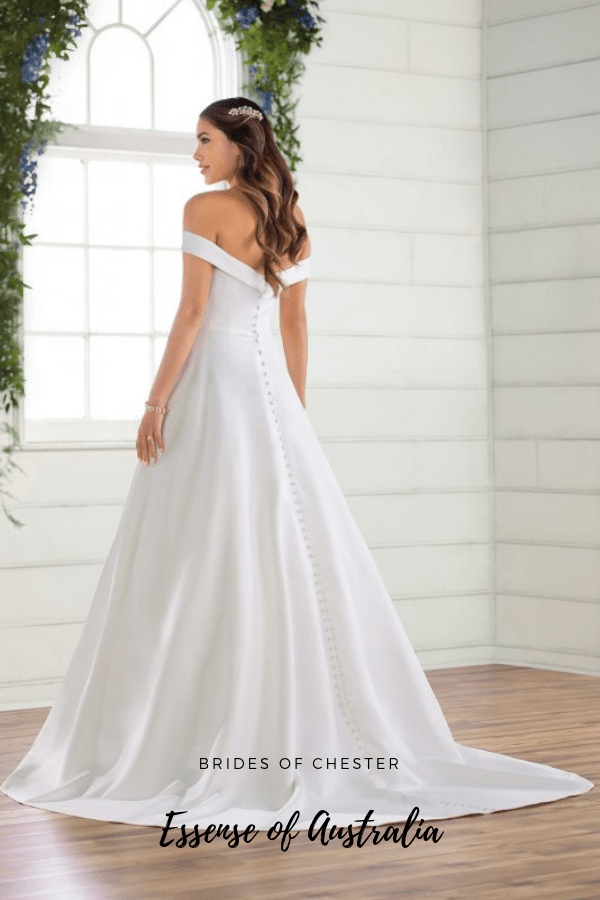 Brides of Chester introduces Essense of Australia D2761 Wedding Dress