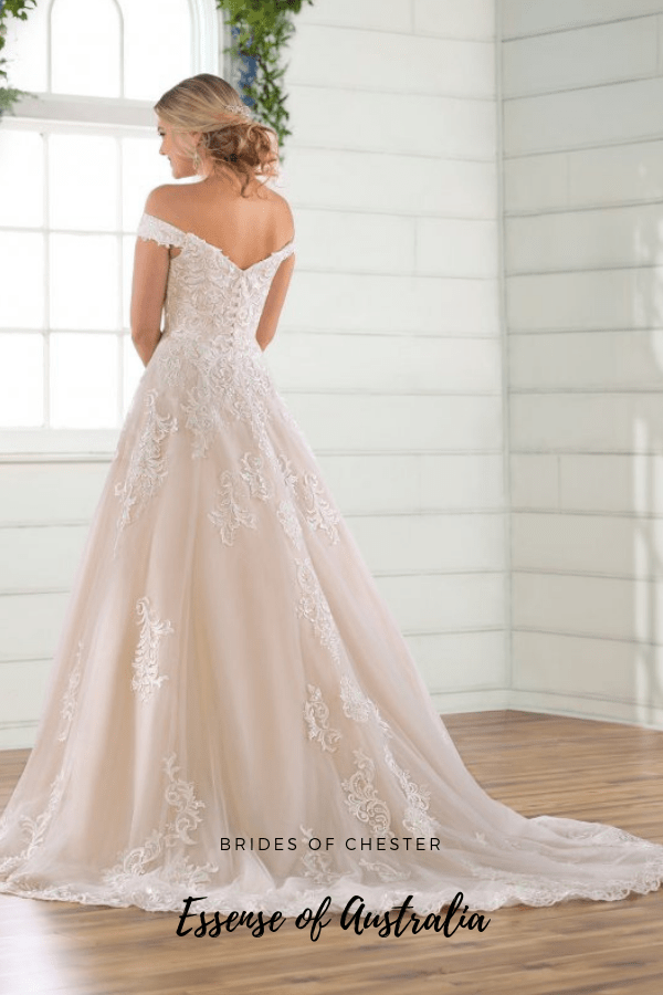 Brides of Chester introduces Essense of Australia D2815 Wedding Dress