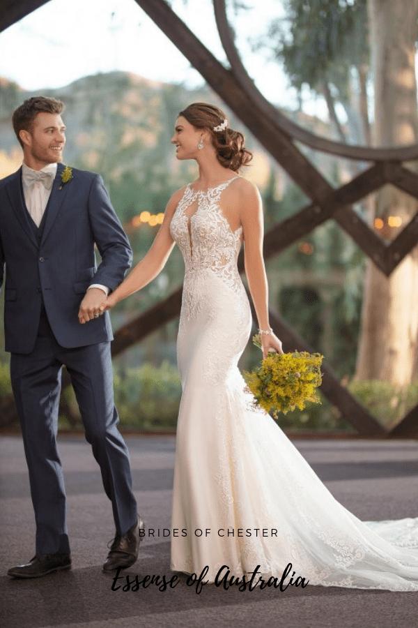 Brides of Chester introduces Essense of Australia D2835 Wedding Dress
