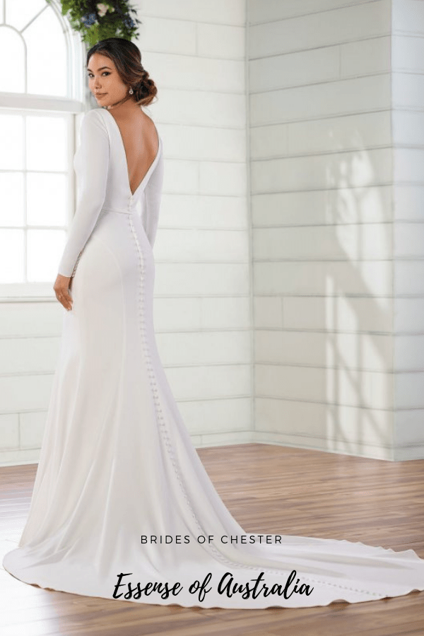 Brides of Chester introduces Essense of Australia D2972 Wedding Dress