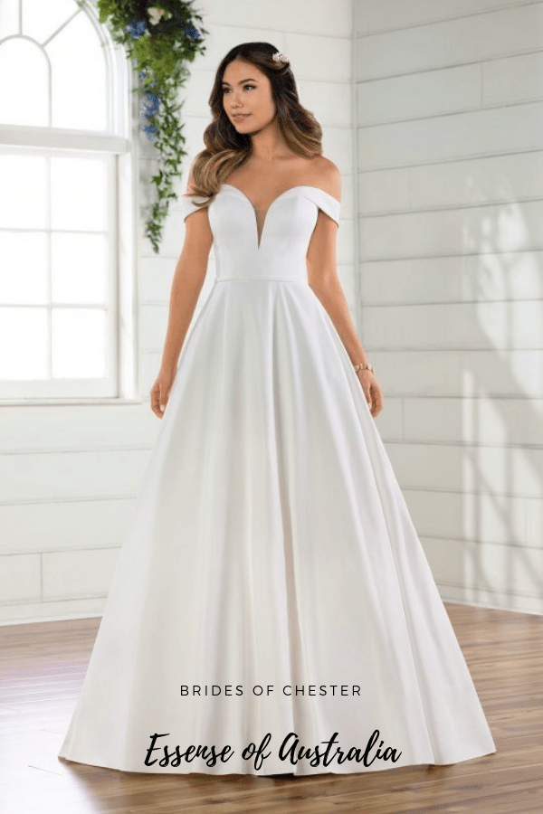 Brides of Chester introduces Essense of Australia D2761 Wedding Dress