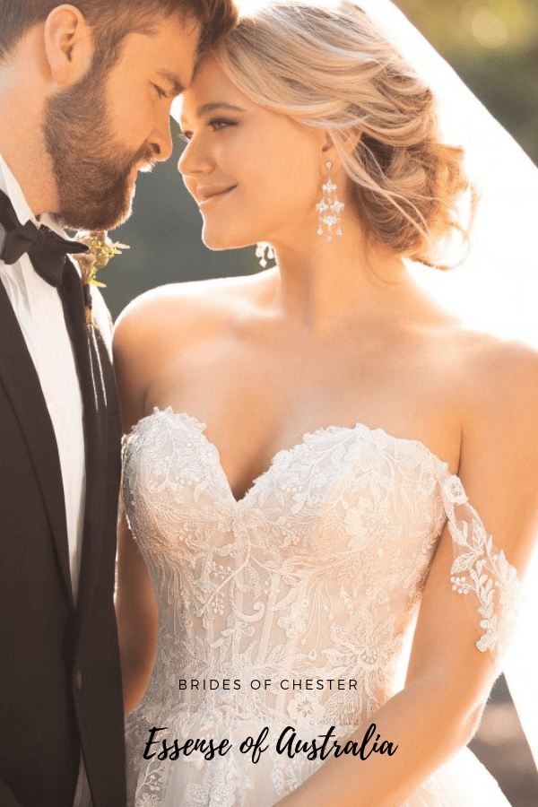 Brides of Chester introduces Essense of Australia D2953 Wedding Dress