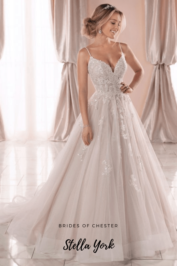 Brides of Chester introduces Stella York 6886
