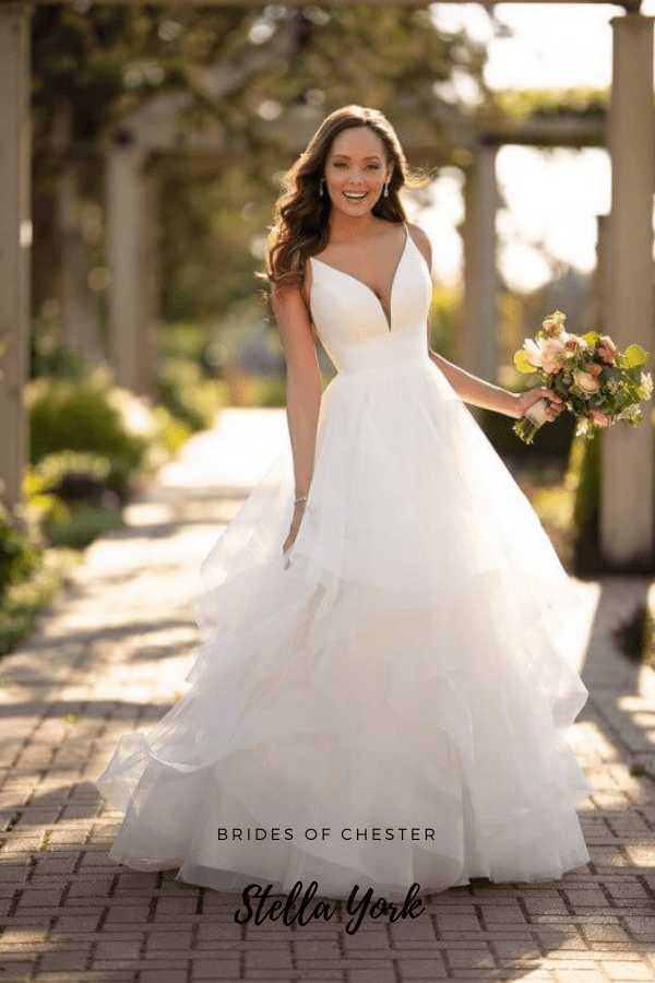 Brides of Chester introduces Stella York 6988