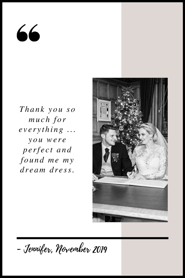 November 2019 Testimonial by Jennifer
