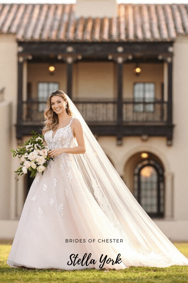 Brides of Chester introduces Stella York 7156