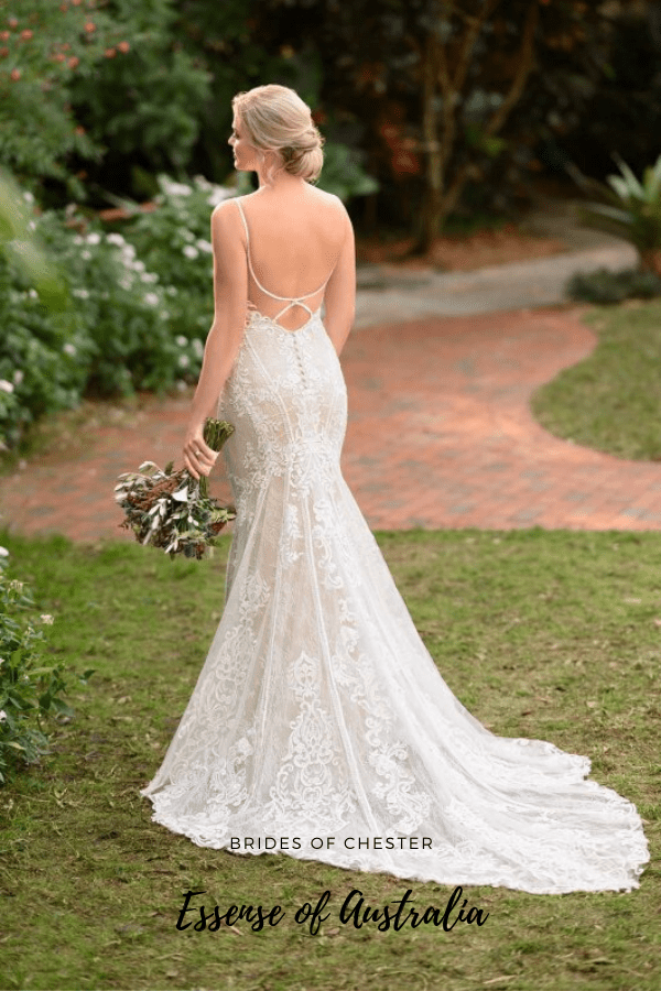 Brides of Chester introduces Essense of Australia D3124