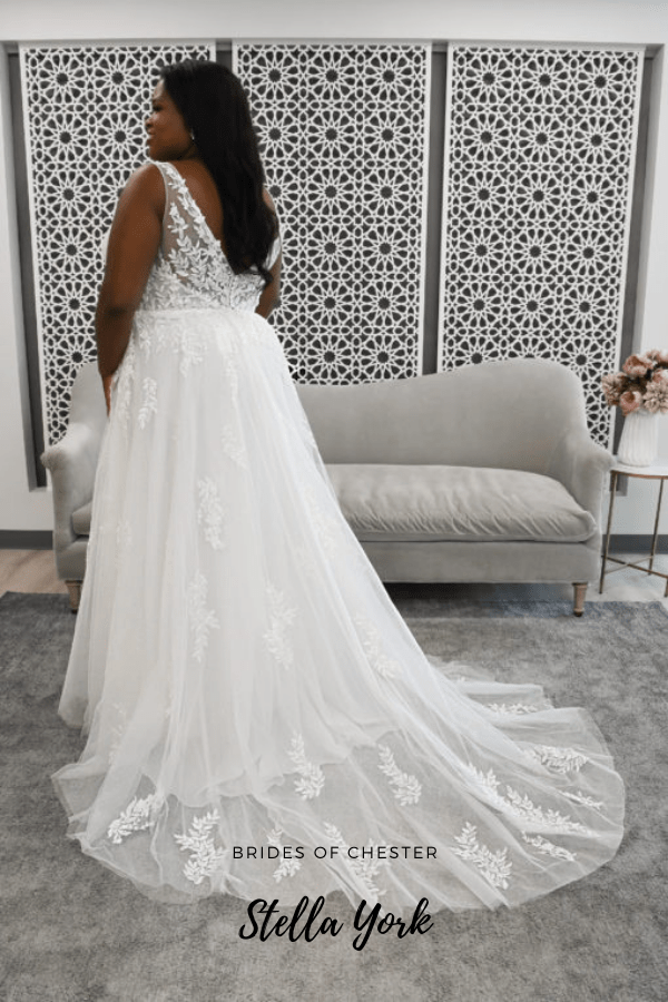 Brides of Chester introduces Stella York 7177 Plus