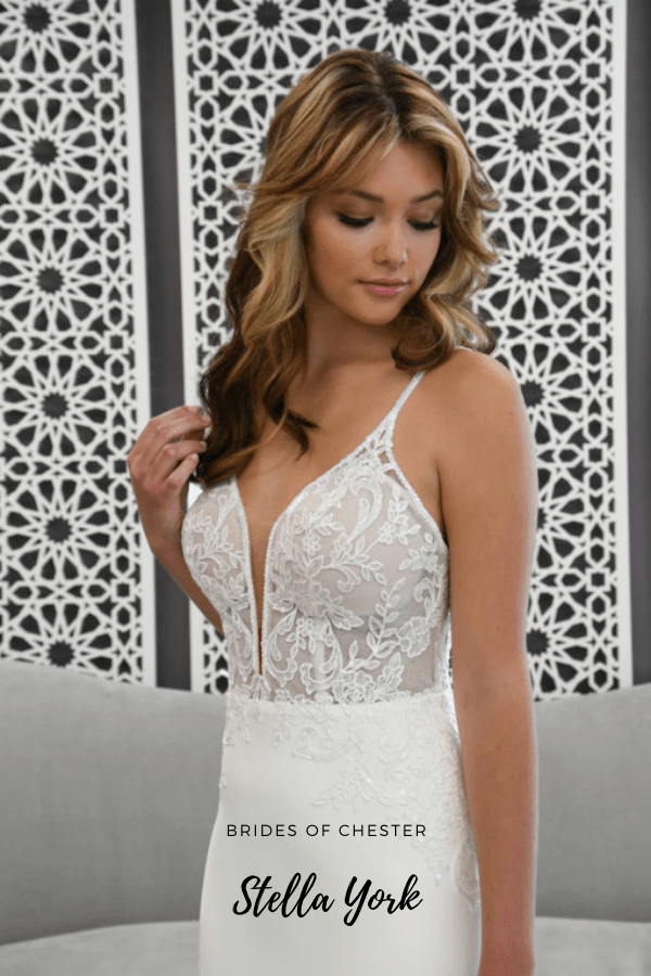 Brides of Chester introduces Stella York 7185