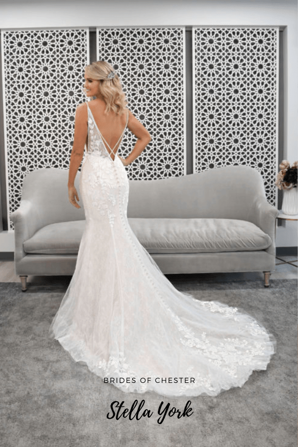 Brides of Chester introduces Stella York 7266