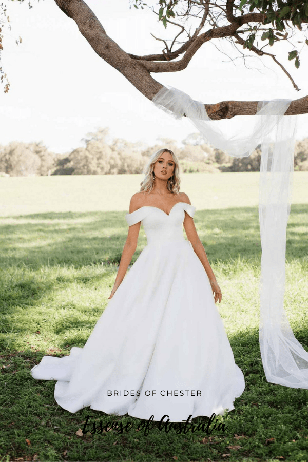 Brides of Chester introduces Essense of Australia D3232