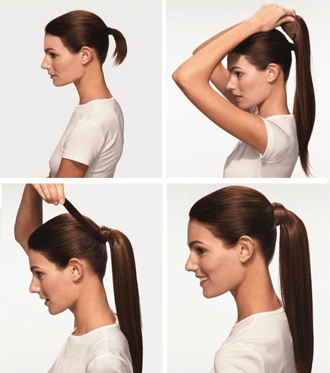 ponytail, wedding hairstyle