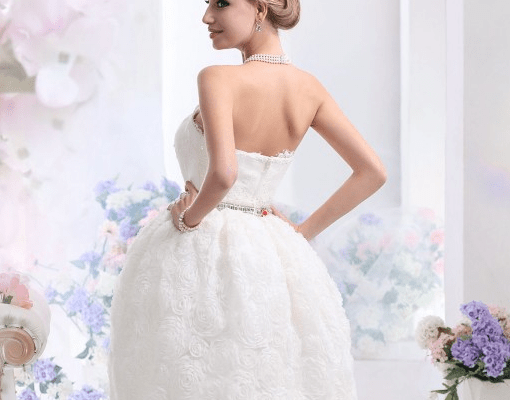 short wedding dress, wedding dress