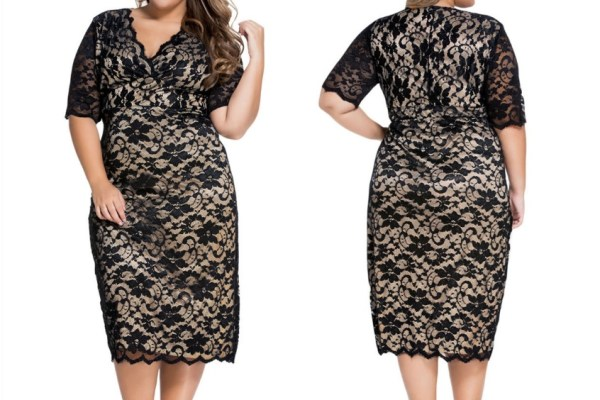 trendy plus size clothing, wedding party