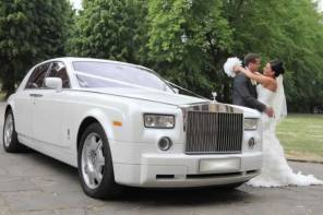 Wedding cars past and present