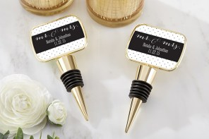 3 Personalized gifts and wedding favors for a festive wedding day