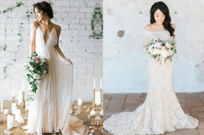 How to choose a wedding dress that fits your figure