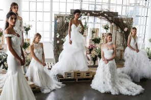 Spring 2018 Bridal Fashion Week dress trends
