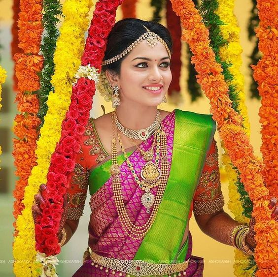 Kanchipuram silk collections for weddings are the new rage