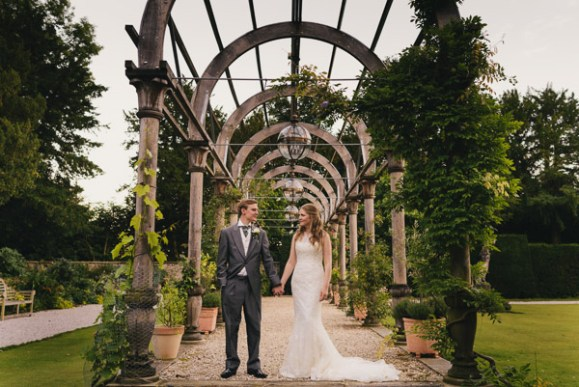 effortless elegance. justin alexander for a classic wedding at hassop hall – danielle & james