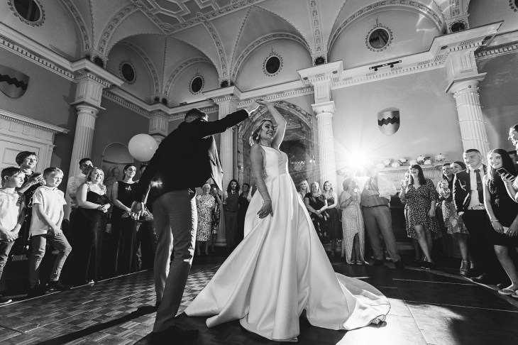 A Classic Wedding at Hazelwood Castle (c) Hayley Baxter Photography (55)