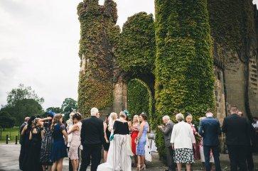 A Black Tie Wedding at Swinton Park (c) M&G Photography (27)