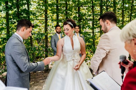 A Stylish Wedding at Alnwick Garden (c) Michal Ufniak (48)