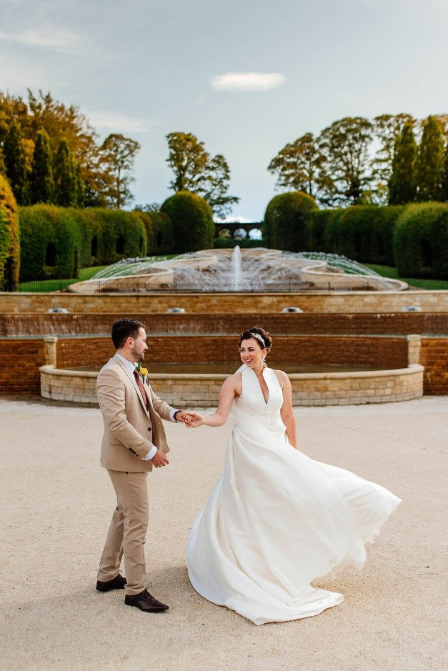 A Stylish Wedding at Alnwick Garden (c) Michal Ufniak (66)