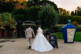 A Stylish Wedding at Alnwick Garden (c) Michal Ufniak (93)