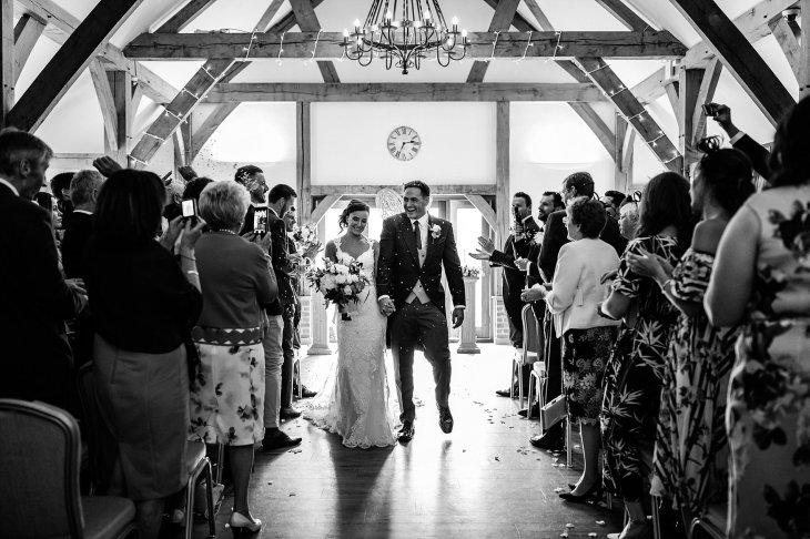 A Rustic Wedding at Sandhole Oak Barn (c) Lee Brown Photography (35)