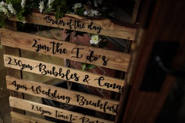 A Rustic Wedding at Sandhole Oak Barn (c) Lee Brown Photography (4)