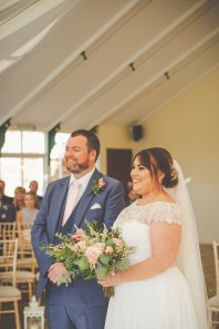 Beautiful Combermere Abbey Wedding shot by Cara Green